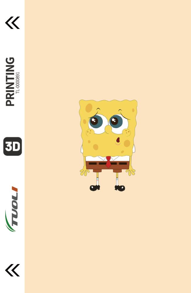 Cartoon animation series 3D UV back film TL-0000891