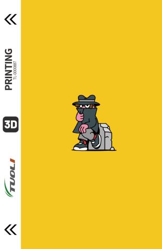Cartoon animation series 3D UV back film TL-0000887