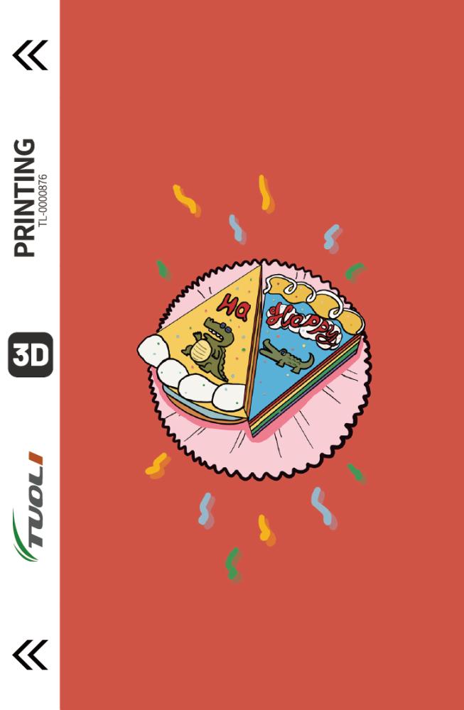 Cartoon animation series 3D UV back film TL-0000876