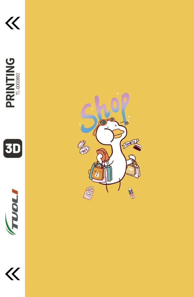 Cartoon animation series 3D UV back film TL-0000892