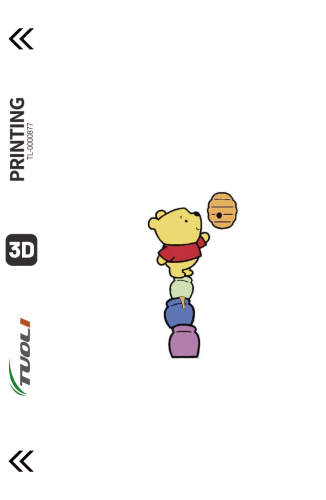 Cartoon animation series 3D UV back film TL-0000877