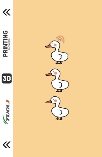 Cartoon animation series 3D UV back film TL-0000878
