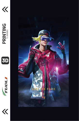Game competition series 3D UV back film TL-0000893