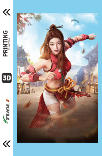 Game competition series 3D UV back film TL-0000899