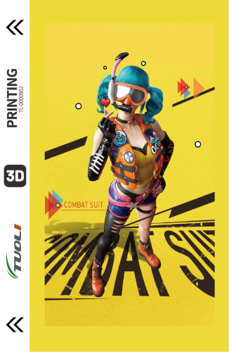 Game competition series 3D UV back film TL-0000902