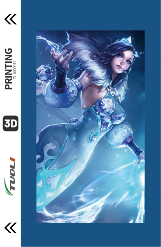 Game competition series 3D UV back film TL-0000912