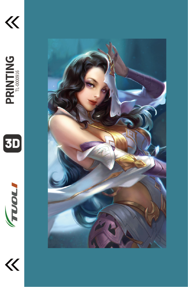 Game Character Series 3D UV back film TL-0000916
