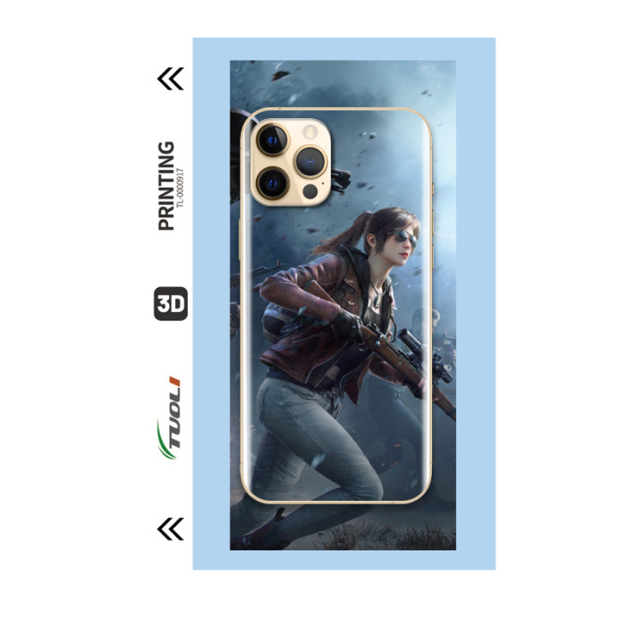 Game Character Series 3D UV back film TL-0000917