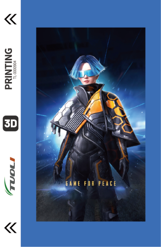 Game competition series 3D UV back film TL-0000904