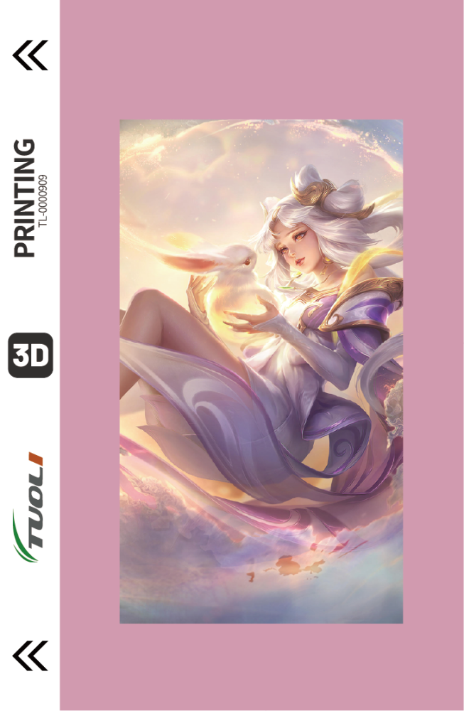 Game Character Series 3D UV back film TL-0000909