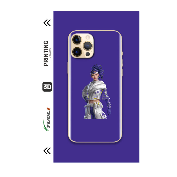 Game Character Series 3D UV back film TL-0000906