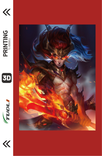 Game competition series 3D UV back film TL-0000911