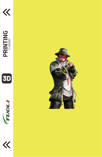 Game competition series 3D UV back film TL-0000895