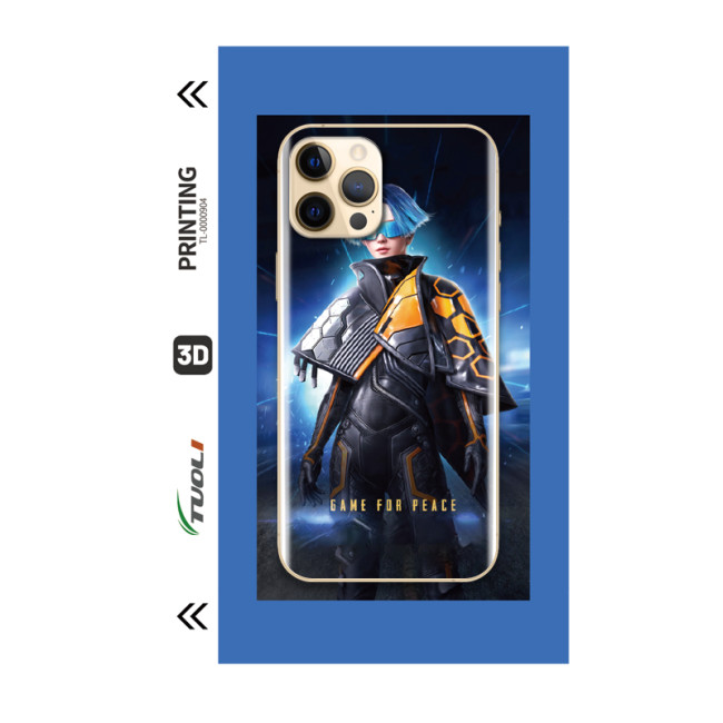 Game Character Series 3D UV back film TL-0000904