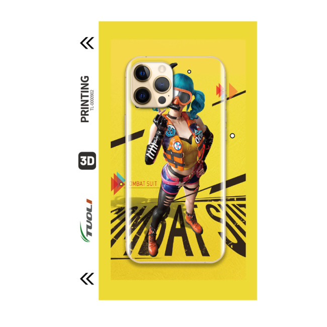 Game Character Series 3D UV back film TL-0000902