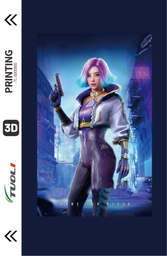 Game competition series 3D UV back film TL-0000900