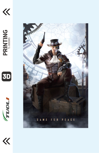 Game competition series 3D UV back film TL-0000905