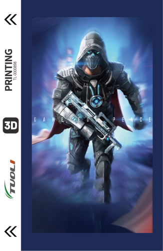 Game competition series 3D UV back film TL-0000898