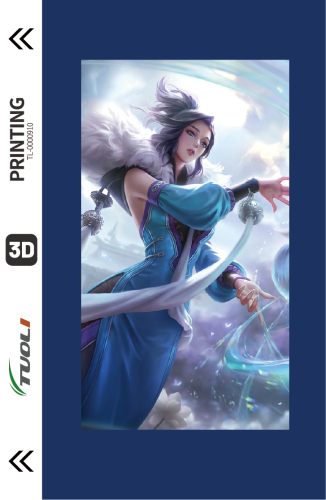 Game competition series 3D UV back film TL-0000910