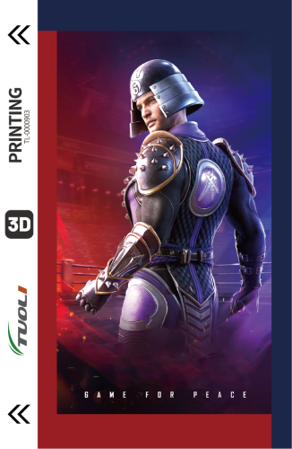 Game competition series 3D UV back film TL-0000903