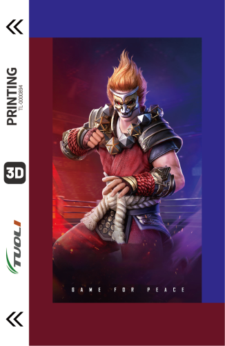 Game competition series 3D UV back film TL-0000894