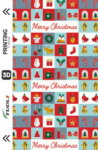 Christmas series 3D UV back film TL-0002180