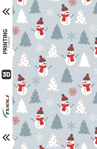 Christmas series 3D UV back film TL-0002161