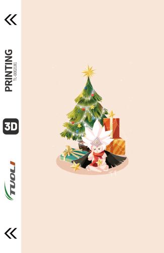 Christmas series 3D UV back film TL-0002181