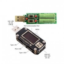 Multi-Function USB Tester for Type-C Micro USB Digital Voltmeter