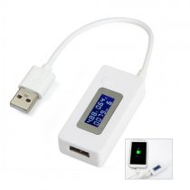 LCD Screen Mini Phone USB Tester Portable Doctor Voltage Current Meter Mobile Power Charger