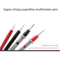 MultiMeter Needle Tip Test Lead Probe Wire Pen for Universal Digital Multimeter