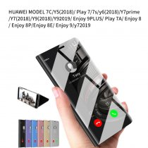 Smart Mirror Flip Case For HUAWEI MODEL 7C--9/y72019