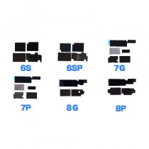 motherboard Heat Sinking Sticker set For iPhone 6G 6P 6S 6SP 7G 7P 8G 8P X