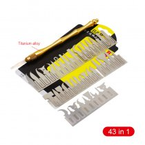 43in1 CPU NAND Removal Graver Blade Glue Cleaning Pry Knife  For iPhone Motherboard Repair A9 A10 A11