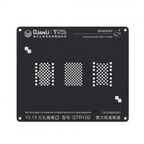 QIANLI 3D black universal hard disk reballing stencil for iphone 6/6S/7/8
