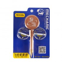 Mechanic FBX08s for Iphone Fingerprint Flight Maintenance Fly line Special Pen Ease Spot Welding of Repair Main Board