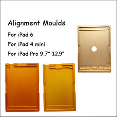 aligning Aluminum alloy mold For ipad mini 4/6/air 2/pro 9.7/10.5/pro 12.9 LCD