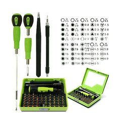 53 in 1 Precision Tweezer Flexible Drill Shaft Disassembly Screwdriver Set for Smart Phone