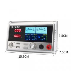 HR1203 Intelligent 3A current oscilloscope power meter for mobile phone repair use
