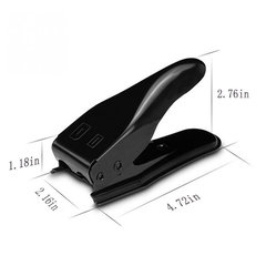 Universal Double Dual 2 in 1 Nano Micro SIM Card Cutter Cutting For iPhone 4 4s 5 6 For Nokia For Samsung Cell Phone