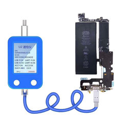 JC U2 Tristar  Tester Detector for IPhone U2 IC Fault Fast Tester SN Serial Number Detector Reader