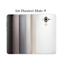 5.9  for Huawei Mate 9 Battery Back Cover Rear Cover Metal Housing Door for Huawei mate9 Back Cover Camera Glass Lens Spare Part