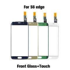 Front Glass Lens+Touch Screen Digitizer Panel for S6 Edge s6 edge plus