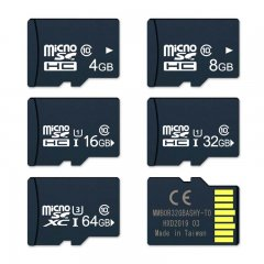Real capacity memory card 512mb 8g 16g 32g 64g 128g micro TF card  for cell phone computer with adapter
