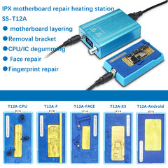 SS-T12A IPhone 6 7 8 X XS MAX Motherboard CPU Desoldering Heating Station Iphone Frame seperator