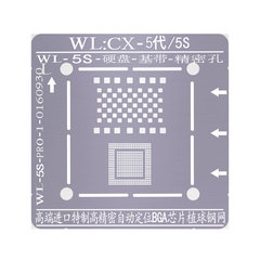 For iphone 5-XS Max Hard Disk Baseband NAND BGA Reballing Tin Net Stencils With Magnetic Positioning Fixture