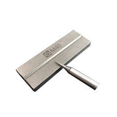 Gold-plated steel whetstone for polishing scorpion grinding blade double-sided tweezers