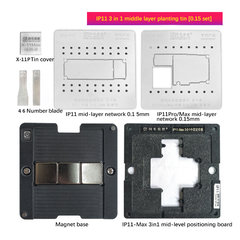 iPhone11 / Pro / Max / middle plant tin / positioning board / base / IP11 middle layer network