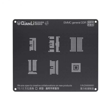 latest new qianli stencil for MSM MTK SDM EMMC KIRIN IC chips
