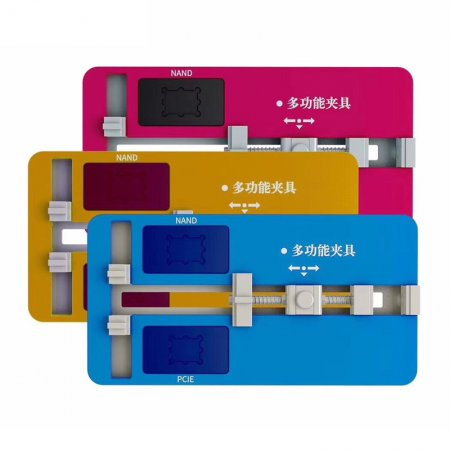 Logic Board Clamps High Temperature Main Motherboard PCB NAND IC Chip Fixture Holder Clamp For iPhone Repair Mold Tool